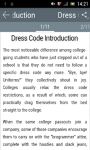 Learn Business Dress Code screenshot 2/3