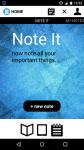 Note It notepad screenshot 1/3