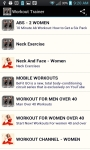 Workout Trainer App screenshot 2/6