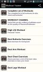 Workout Trainer App screenshot 4/6