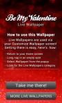 Be My Valentine Live Wallpaper free screenshot 6/6