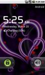 Purple Heart Love Live Wallpaper LWP screenshot 4/4