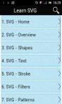 Learn SVG screenshot 1/3