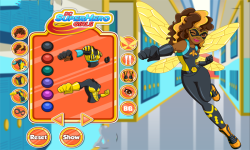 Bumblebee DC Super Hero Girls Dress Up screenshot 1/3