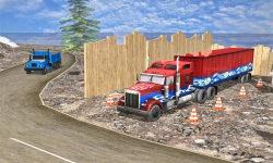 Construction Cargo Truck 3dsim screenshot 5/5