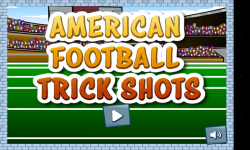American Football Trick Shots screenshot 1/4