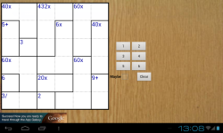 MathDoku Awesome screenshot 2/6
