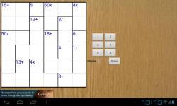 MathDoku Awesome screenshot 4/6