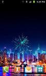 Christmas NewYear Fireworks Live Wallpaper screenshot 2/4