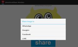 Iphoto Social Share : Monsters screenshot 3/3