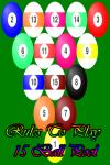 Rules to play 15 Ball Pool screenshot 1/5