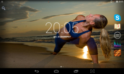 Yoga Live Wallpaper screenshot 2/4