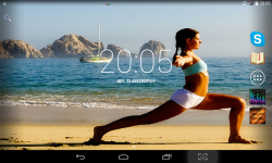 Yoga Live Wallpaper screenshot 3/4