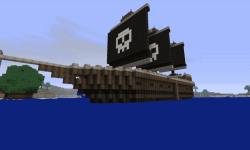 Pirate ship ideas minecraft screenshot 1/3
