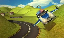 Flying Police car 3d simulator screenshot 3/4