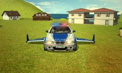 Flying Police car 3d simulator screenshot 4/4