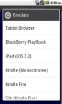 Tablet Browser screenshot 1/6