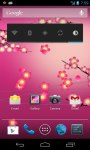 Plum Flower LWP screenshot 6/6