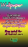 Rainbow Squares Live Wallpaper free screenshot 2/3