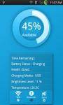 Battery info widget Free screenshot 3/4