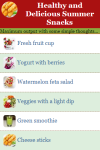 Healthy and Delicious Summer Snacks screenshot 1/2