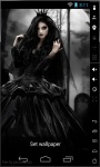 Gothic Queen Live Wallpaper screenshot 2/2