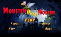 Monster Duck Hunter screenshot 1/5