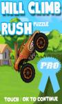 Hill Climb Rush Pro free screenshot 1/3