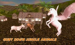 Flying Unicorn Simulator 3D screenshot 1/3