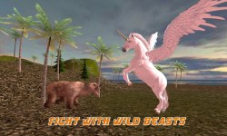 Flying Unicorn Simulator 3D screenshot 3/3