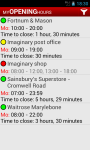 My Opening Hours screenshot 1/6