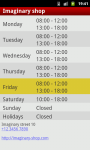 My Opening Hours screenshot 3/6