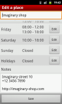 My Opening Hours screenshot 4/6