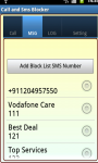 Call and SMS Blocker Free screenshot 5/5
