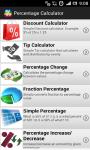 Percentage Calculator Pro screenshot 1/5