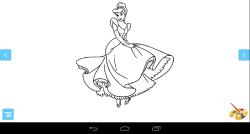 Coloring Princess Game screenshot 1/3