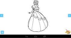 Coloring Princess Game screenshot 3/3