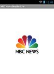 NBC News Reader Lite screenshot 1/6