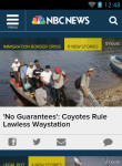 NBC News Reader Lite screenshot 4/6