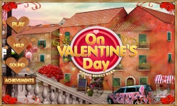 Free Hidden Object Game - On Valentines Day screenshot 1/4