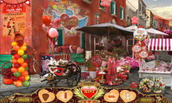 Free Hidden Object Game - On Valentines Day screenshot 3/4