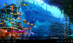 Nemo Aquarium Live Wallpaper screenshot 2/4