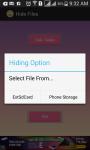 Secret hide file screenshot 3/4