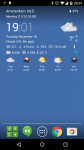 Transparent Clock and Wetter Pro sound screenshot 1/4