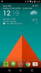 Transparent Clock and Wetter Pro sound screenshot 3/4