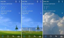 Transparent Clock and Wetter Pro sound screenshot 4/4