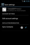 SmoothSync for Cloud Contacts only screenshot 1/6