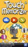 Touch Memorizer Lite screenshot 1/6