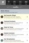 SermonAudio Android Edition screenshot 1/2