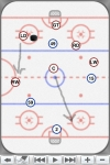 Ice hockey coach's clipboard screenshot 1/1